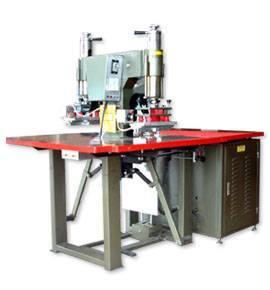 Double head high-frequency plastic welding machine