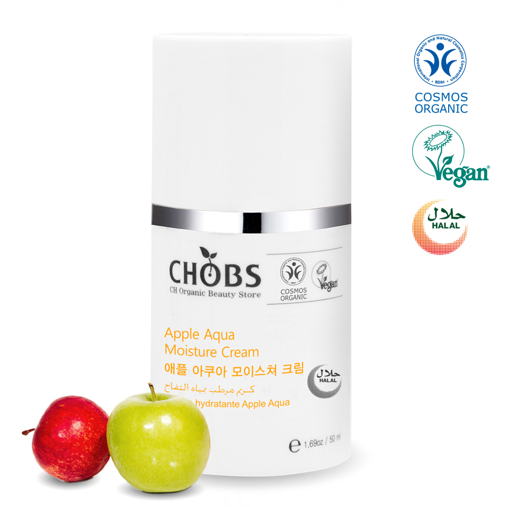 CHOBS Organic Apple Aqua Moisture Cream 50ml