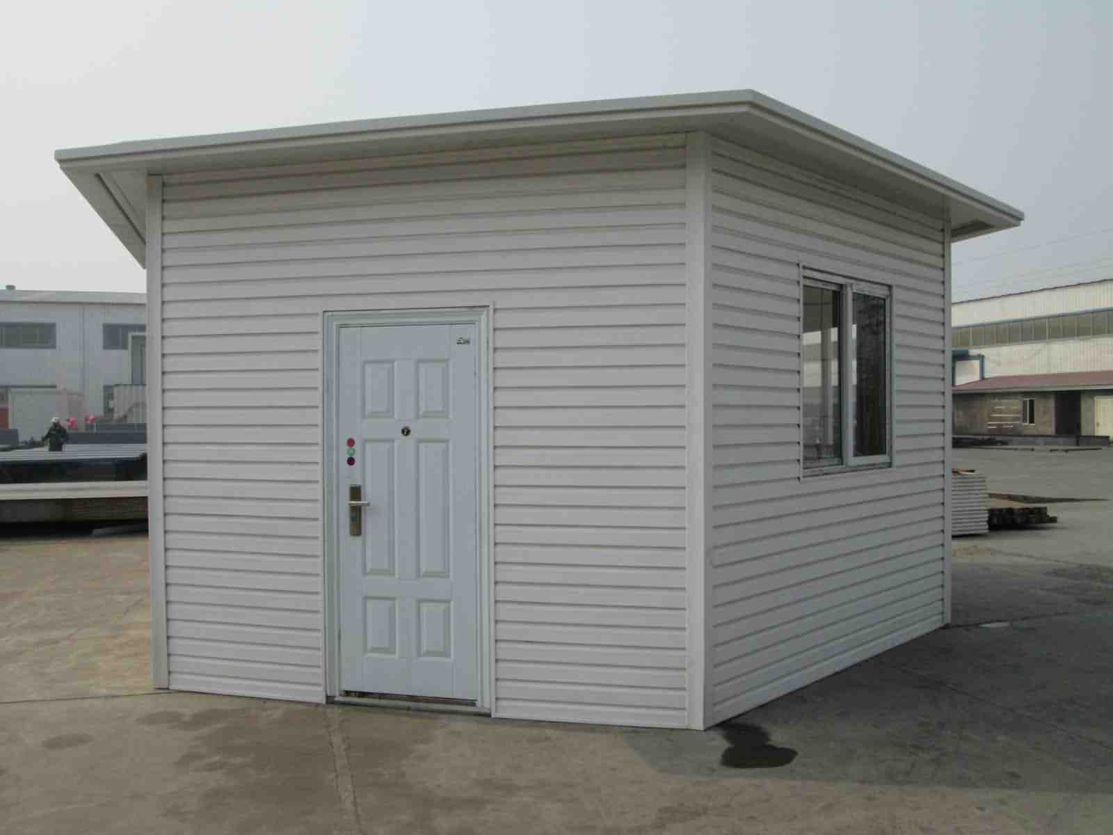 Low Cost Steel Structure Prefabricated Garden Shed
