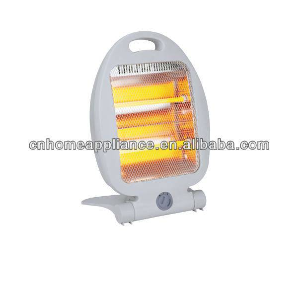 800W Electric quartz heater with handle