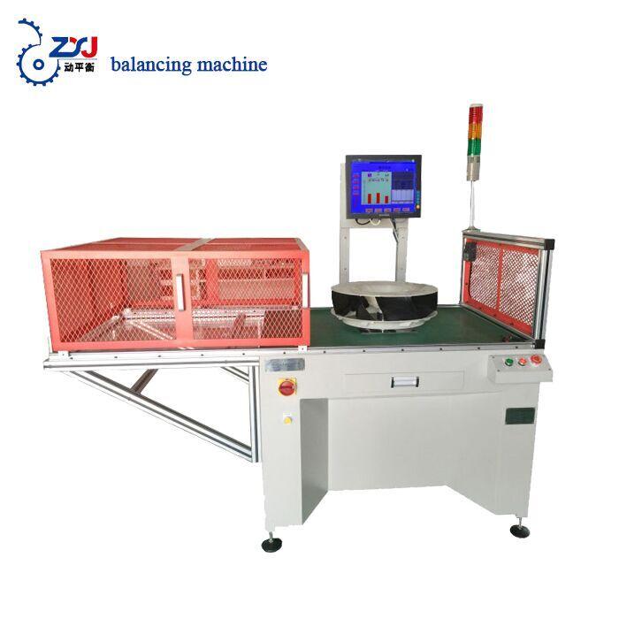 conditioning fan wheel balancing machine