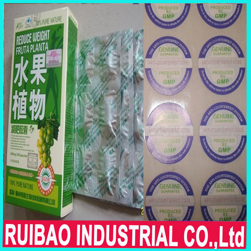 Excellent Slimming Product Fruta Planta Weight Loss Capsule Free Shipping