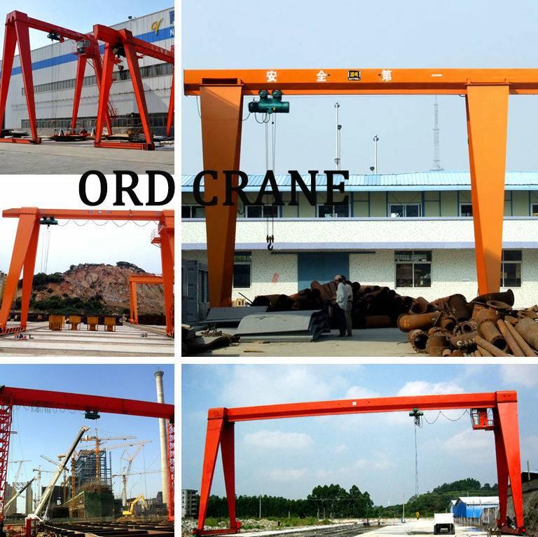 Cheap Price Best Quality Single Girder Gantry Crane