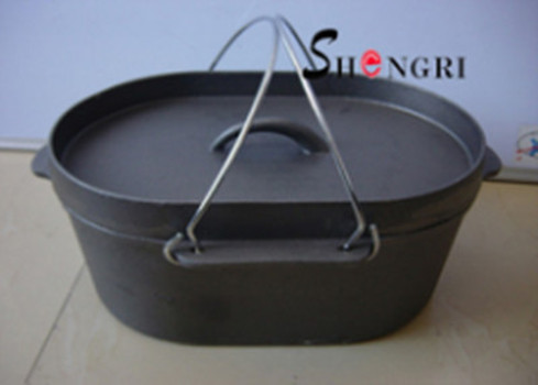 SR052 Shengri New Dutch Ovens Cast Iron Cookware For Outdoor Cooking