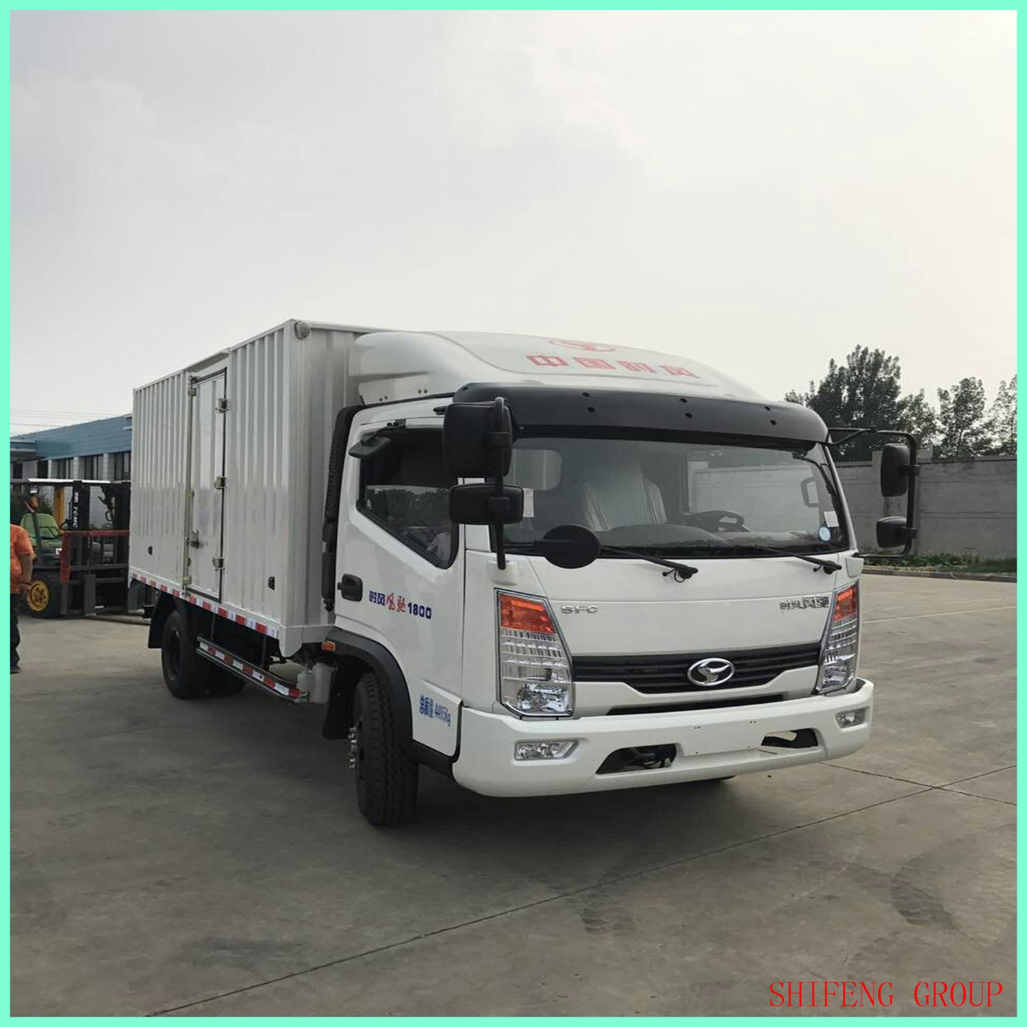 Cargo Truck Light Truck Cargo Box Truck Made In China