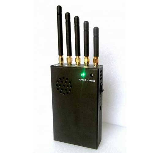 Portable 3G 4G Cell Phone Jammer & WiFi Jammer