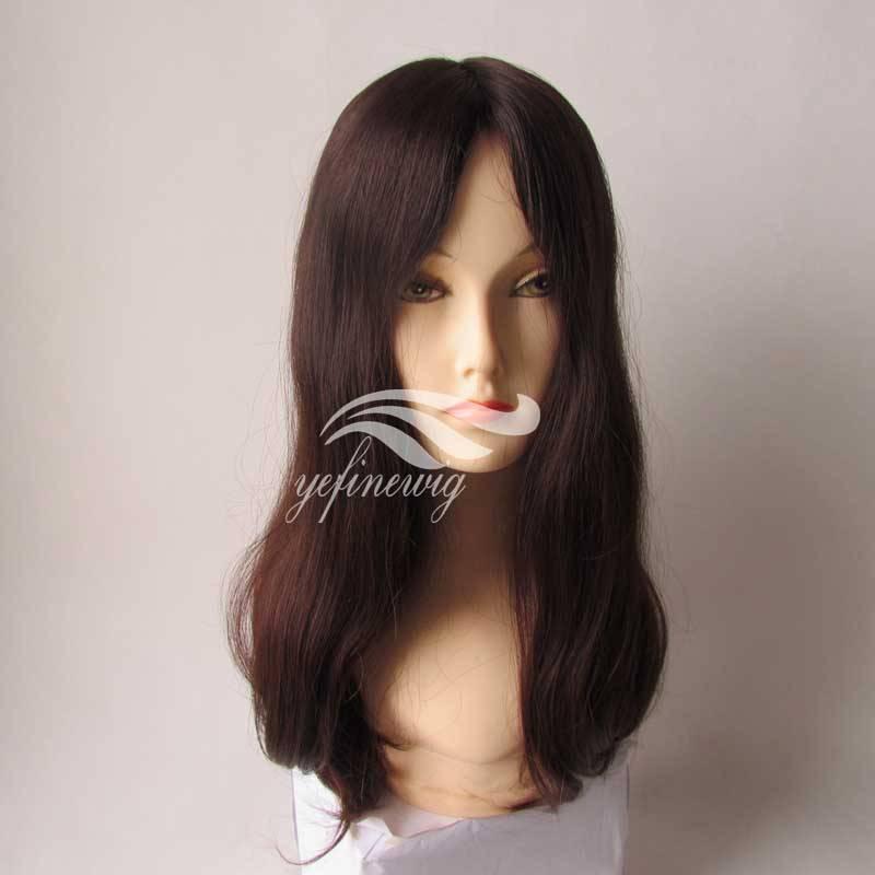 High quality Human Hair Jewish Wig