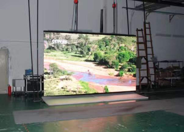 Indoor rental P3.91 LED display screen