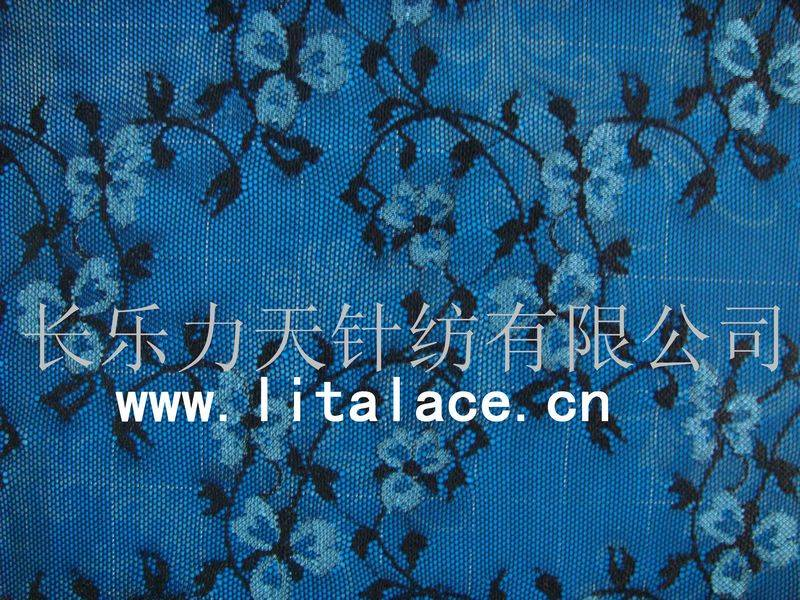 lace fabric with wintersweet pattern M1383