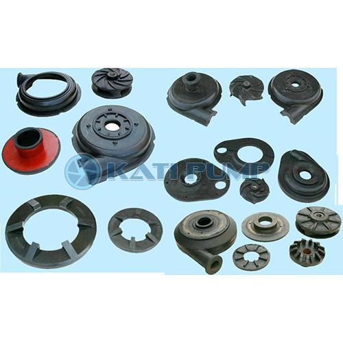 Rubber slurry pump parts rubber pump parts slurry pump spare parts OEM Pump parts wholesale