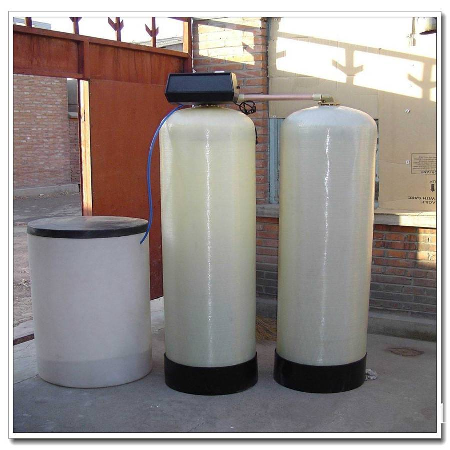 Easy control indusrty water softener with resin