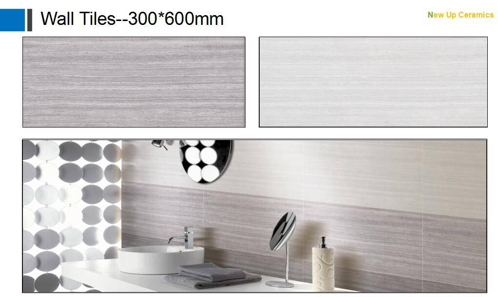 Interior usage wall tiles bathroom wall tiles 300*600mm