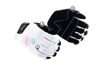 garden gloves,lady gloves,mechanic gloves,biking gloves,safety gloves,MC-L003