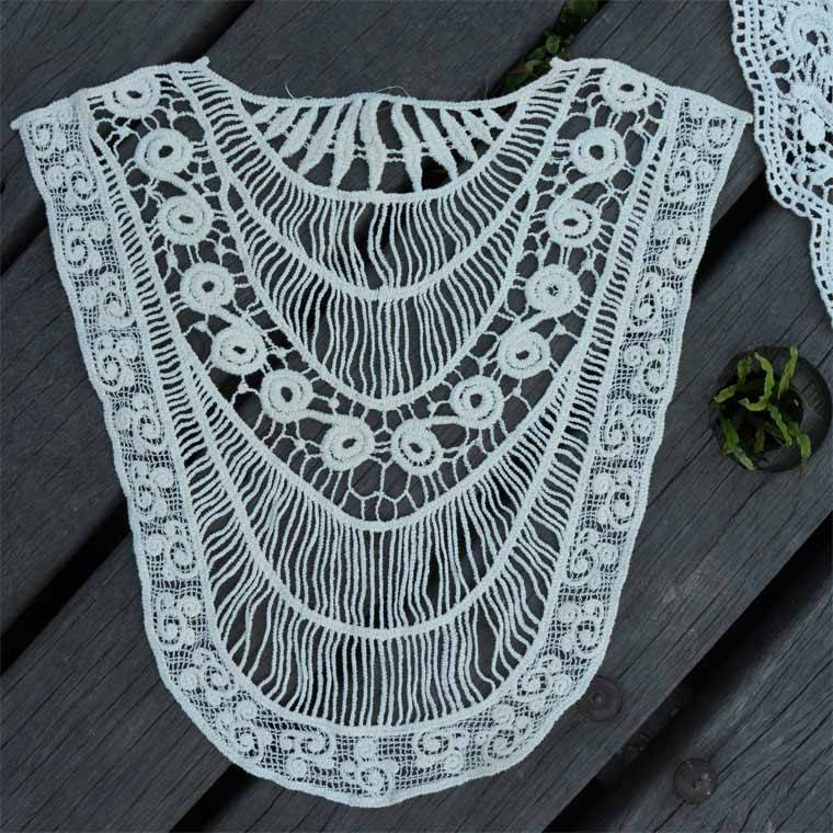 COTTON LACE NECK PATCH