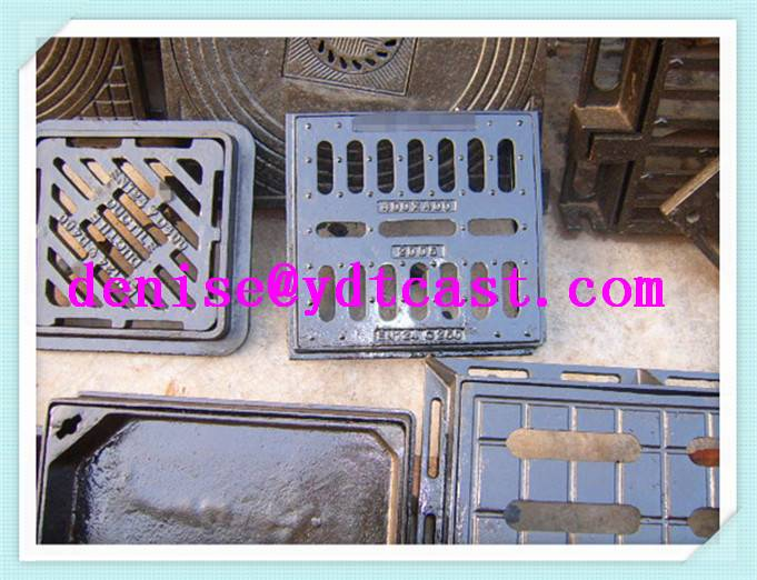 Gray iron gully grating drain grates