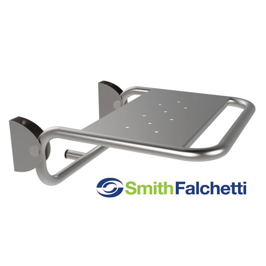 Folding Shower Seat Polished Stainless Steel AISI 304