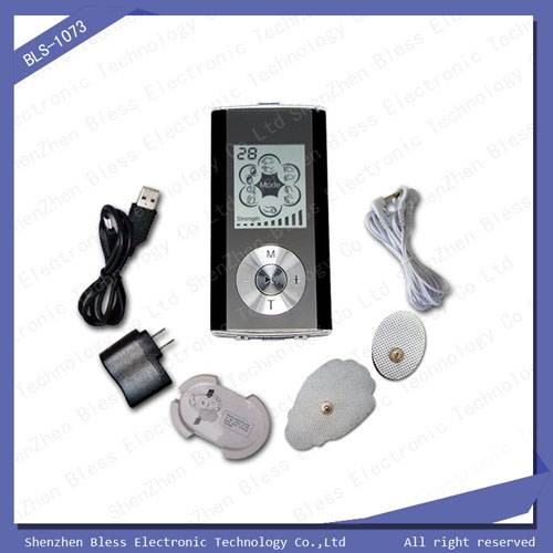 BLS-1073 Two channel chargeable electronic muscle stimulator