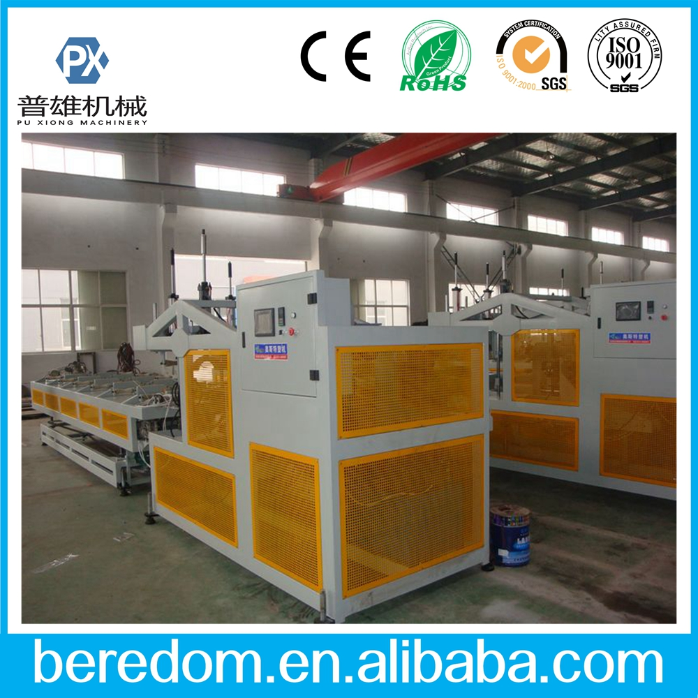 PVC PE PP plastic pipe belling machine