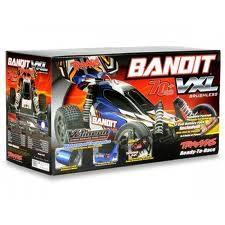 New Traxxas RTR 1/10 Bandit VXL 2.4GHz with 7 Cell Battery and Charger