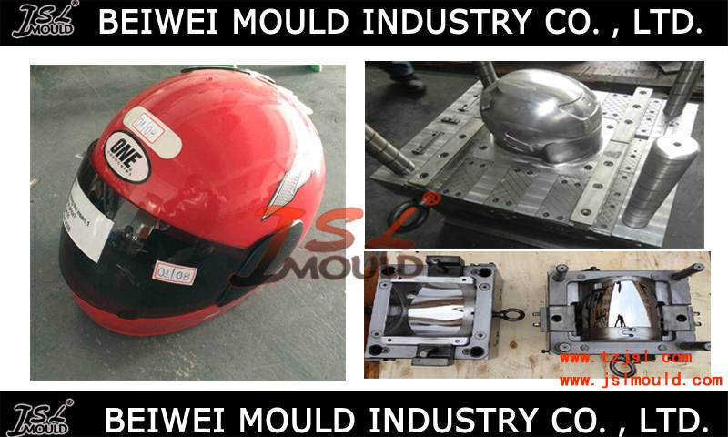 Injection Plastic Motorcycle Full Face Helmet Mould