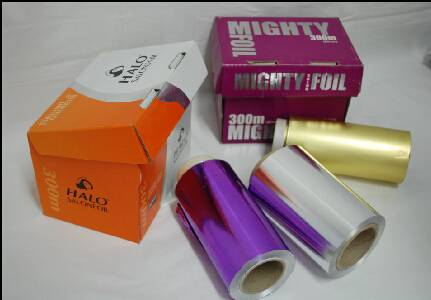 recyclable hairdressing foil used in salon