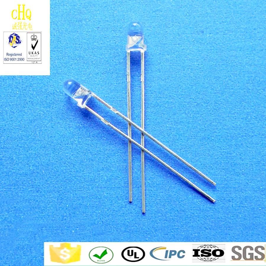 3mm 940nm round infrared LED /infrared emission tube