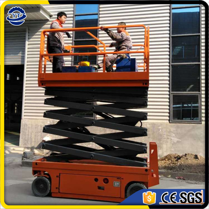 hydraulic self propelled electric scissor lift china