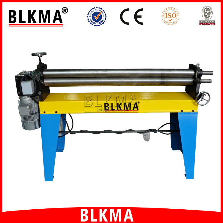BLKMA duct manufacturing machines W11f Asymmetrical 3-roller Rolling Machine