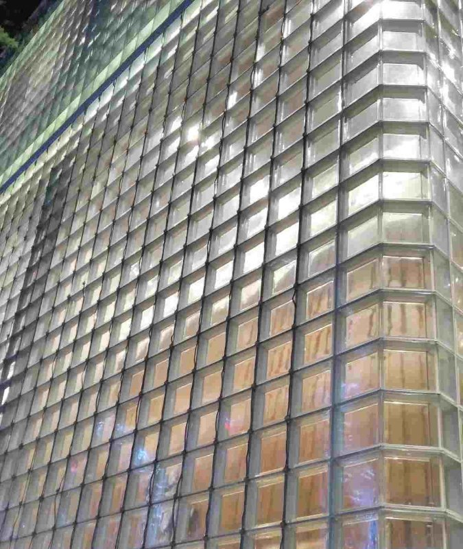 Clear Glass Brick, Glass Block for Building and Decoration