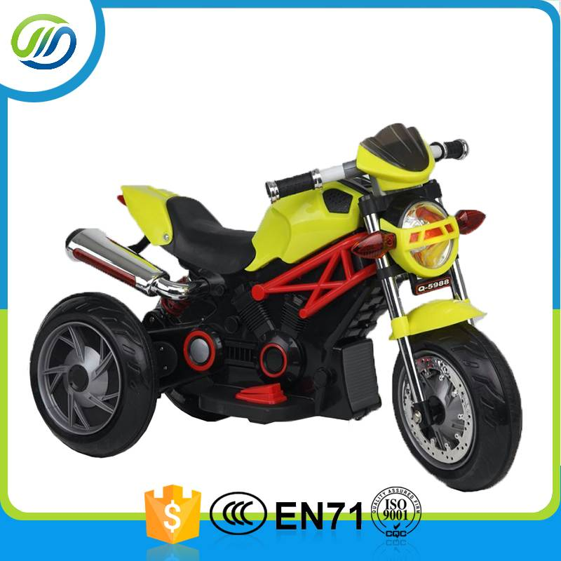 Battery operated toy electric motorcycle for kids