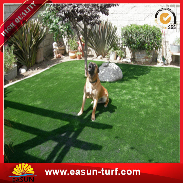 China Manufacturer Direct fake Turf Garden Landscape artificial Synthetic grass turf-Donut