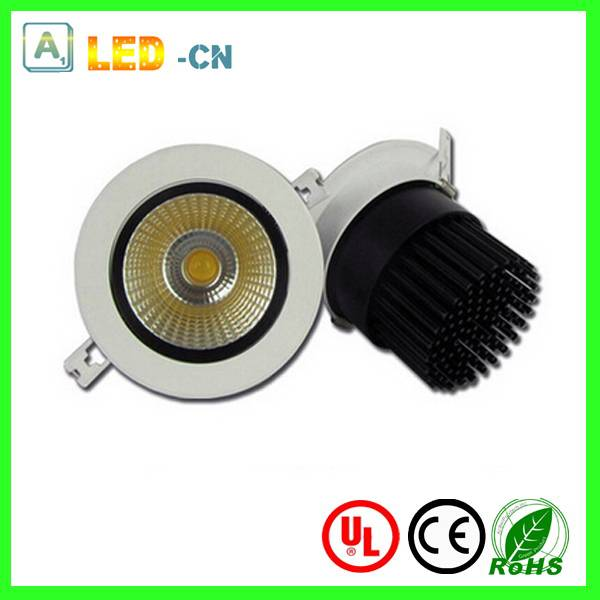5W dimmable COB led ceiling downlight