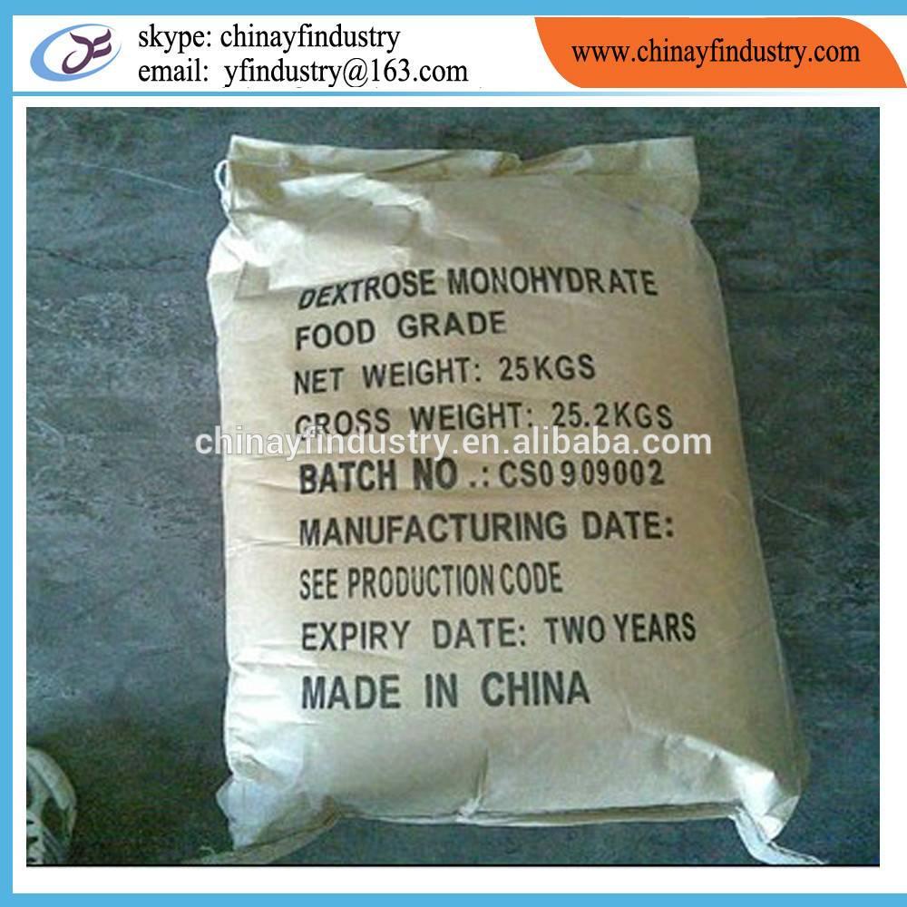Sweeteners Dextrose Monohydrate food grade