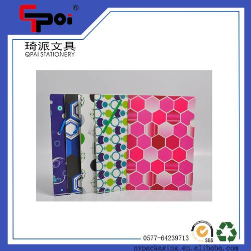 PP Stationery Elastic Printing File Folder Document File Folder
