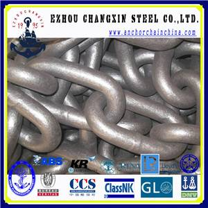 Marine Anchor Chain studless Link Chain