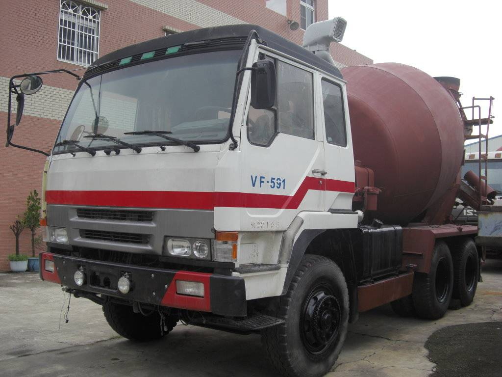 Used Fuso Mixer Truck-(VF-591)-
