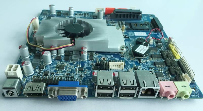 intel Celeron 1037u mini itx Motherboard with 2GB RAM