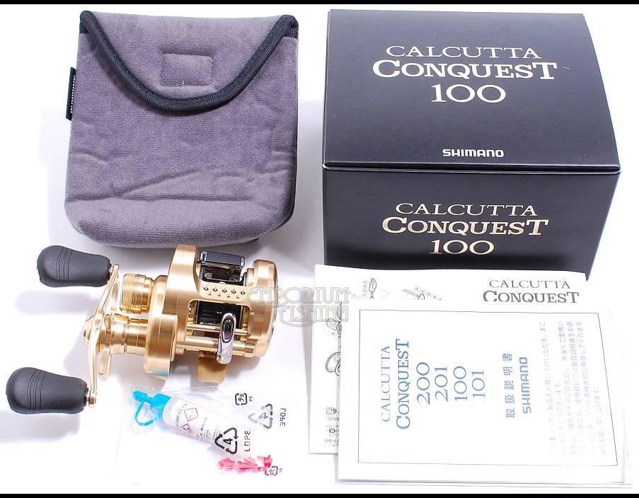 2014 Shimano Calcutta Conquest 100 RH Baitcasting Reel