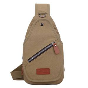 canvas leisure chest bag