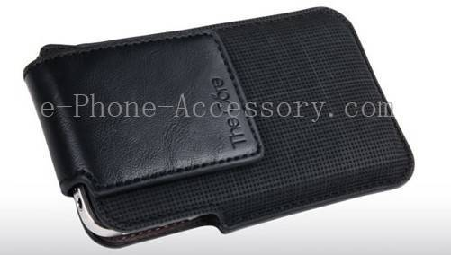 Best wholesale GC3B Apple iPhone 4 Leather Case - iphone case leather black