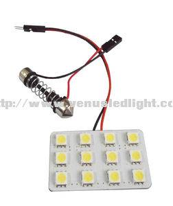 PCB 12pcs 5050SMD New LED Dome Light series