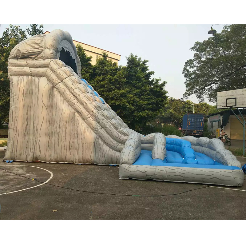 Hot sale outdoor largest inflatable water slide