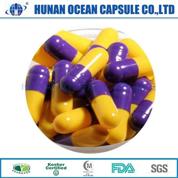 Gelatin empty capsule shell