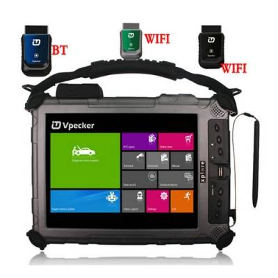 VPECKER Easydiag OBDII Scanner With XPLORE IX104 Tablet