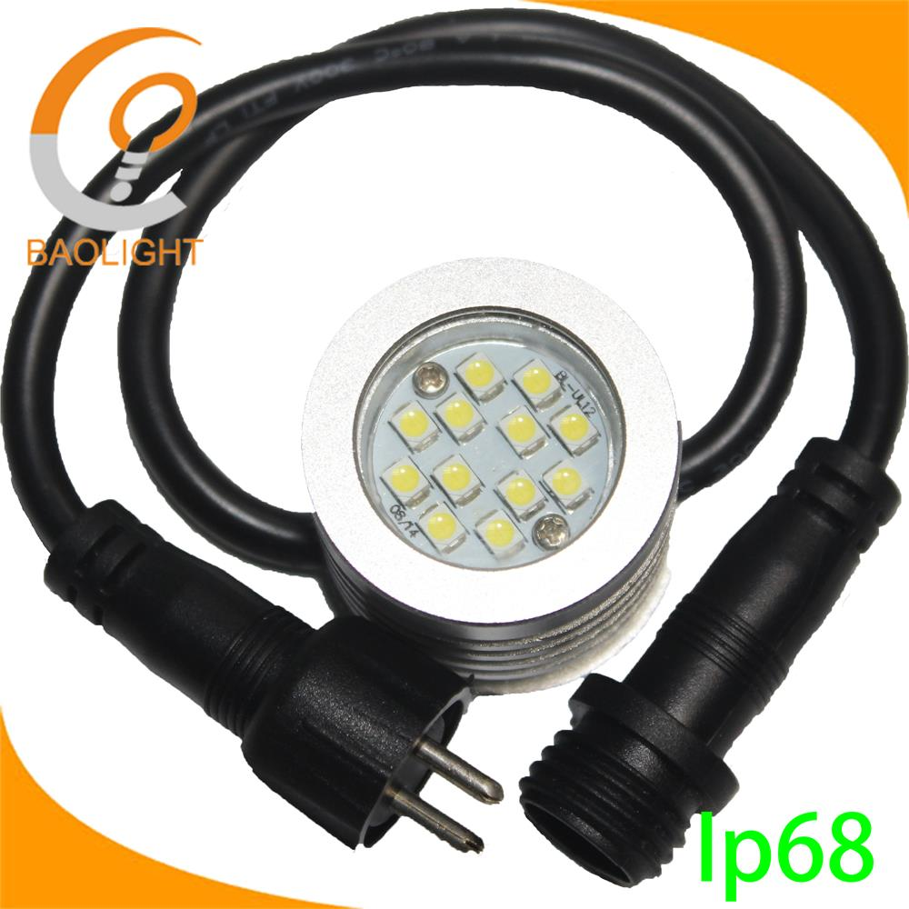 Surface Mounting Waterproof led underwater Swimming pool light,projecting flowing long lifetime unde