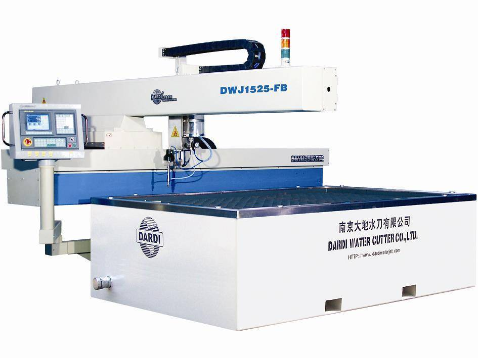Waterjet Cutting Machine---Dwj15 Series Flying-Arm CNC Cutting Table