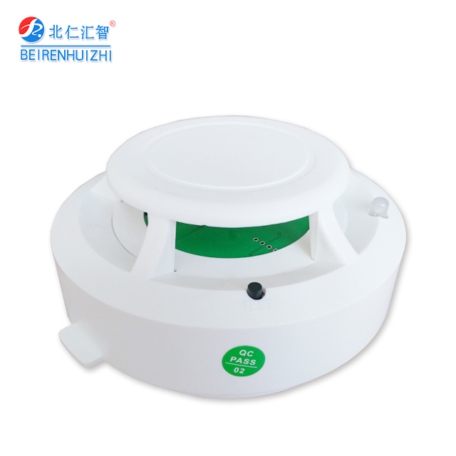 Wireless heat detector battery operated heat detector
