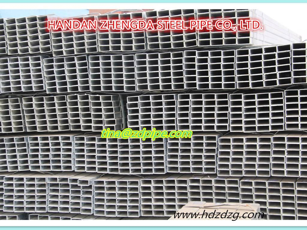 Rectangular ERW steel pipe/tube hollow sections