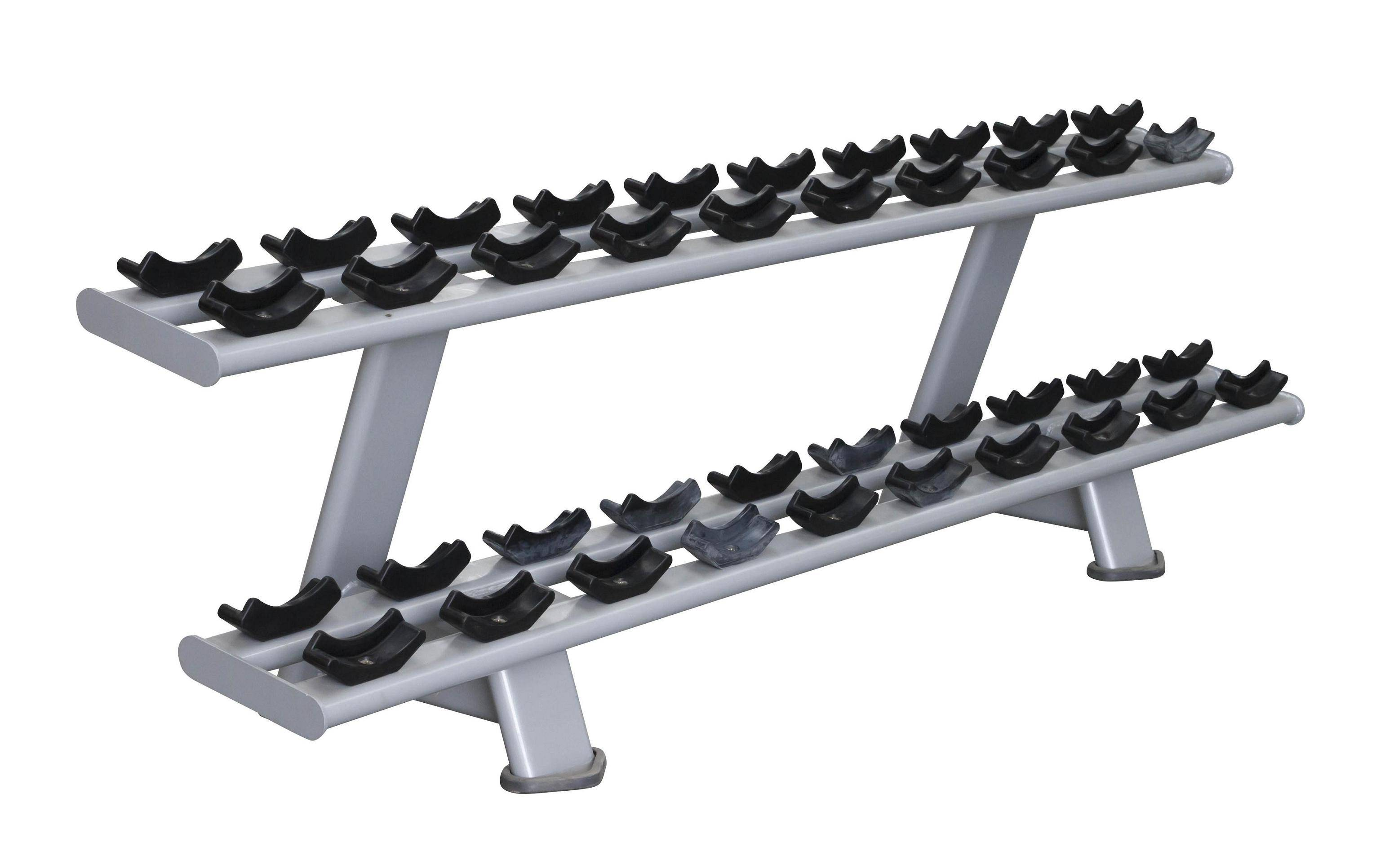 Twin Tier Dumbbell Rack