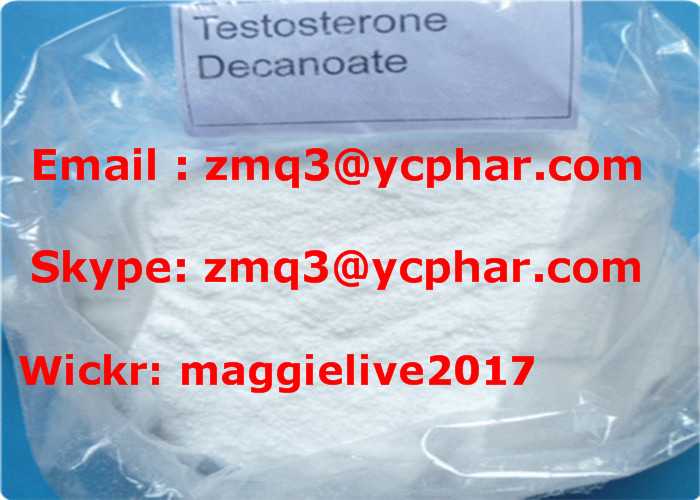Muscle Building Raw Steroids Powder CAS 5721-91-5 Testosterone Decanoate